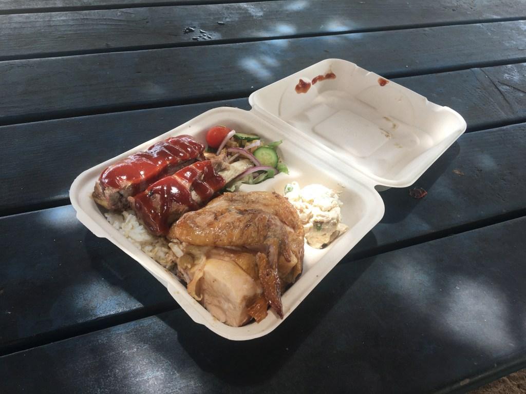 The famous Huli Huli Chicken.