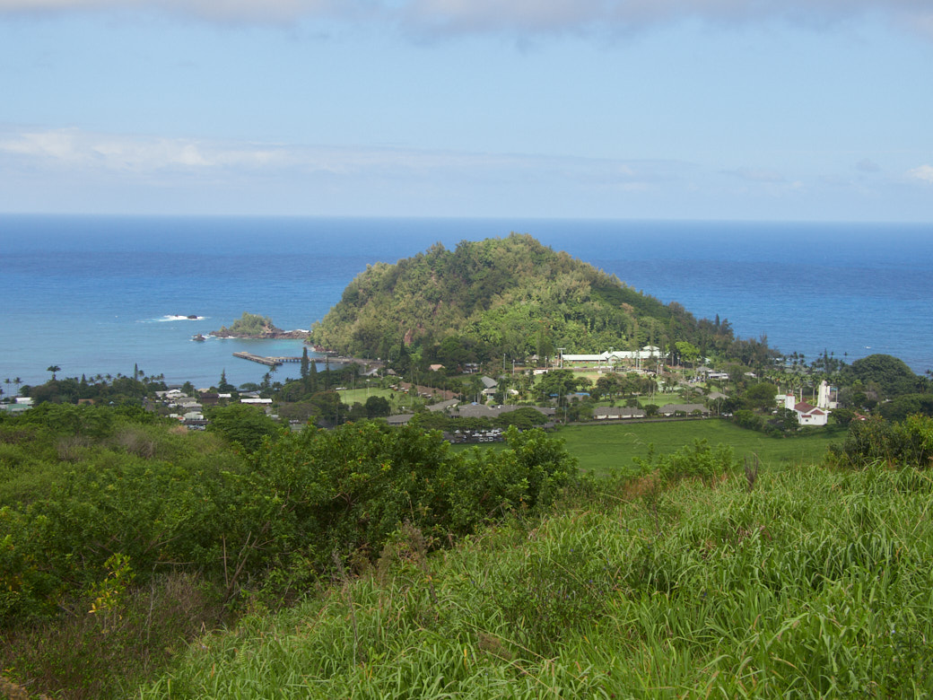 View of Hana from the walk to Fagan's Cross